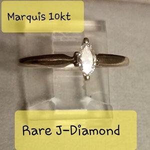 Marquis 10kt rare